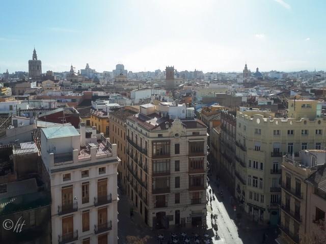 über den Dächern von Valencia