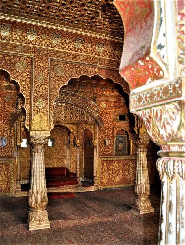 Junagarh Fort in Bikaner / Rajasthan