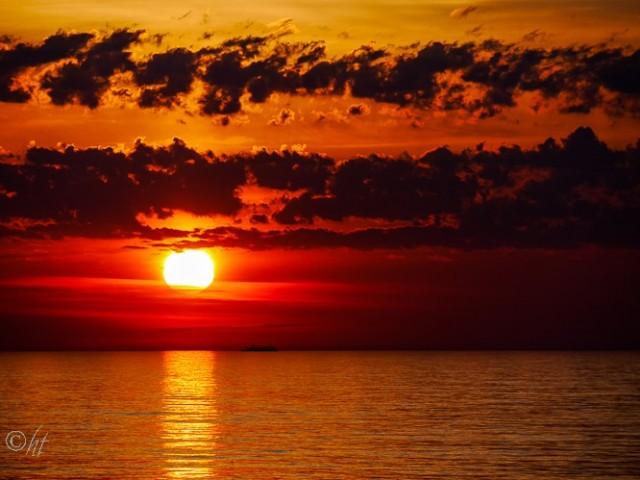 Anfang Mai und die Sonne geht erst um 22 Uhr schlafen