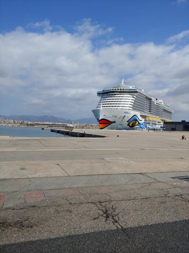 AIDAnova in Mallorca