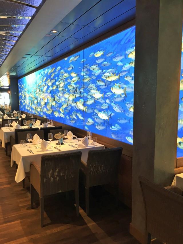 OCEANS- das Fischrestaurant auf AIDAnova