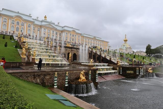 Wasserfontänen Peterhof