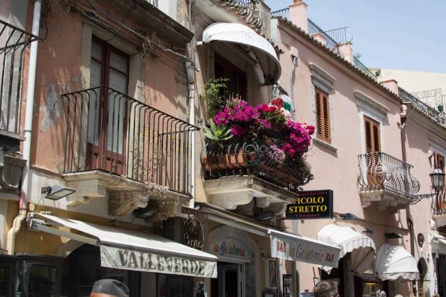 Die Innenstadt von Catania