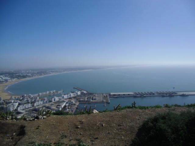 Aussichtsplattform in Agadir
