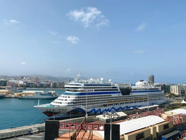 Im Hafen von Las Palmas