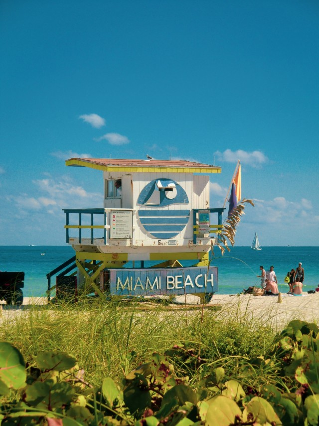 Miami Beach Lifeguard-house