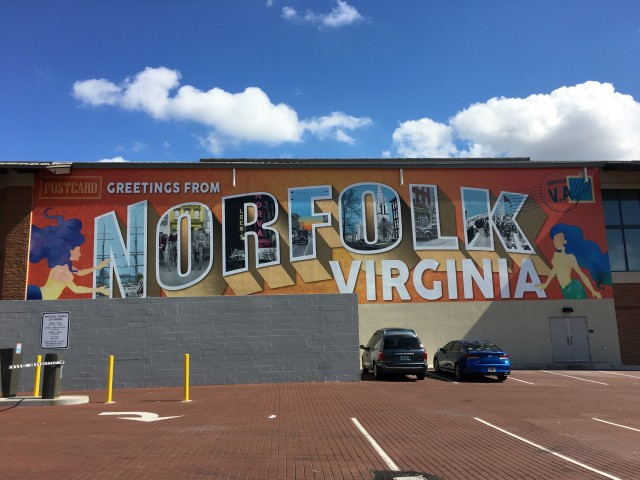 Greetings from Norfolk