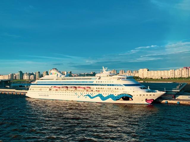 AIDAcara in St. Petersburg