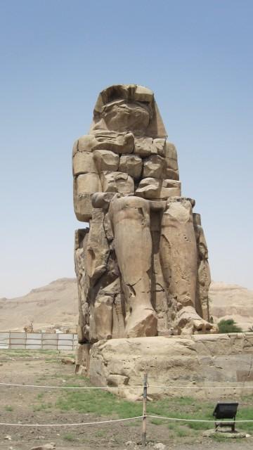 Statue im Tal der Könige