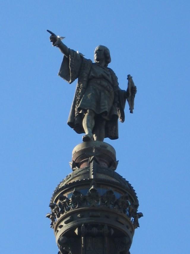 Kolumbus Statue