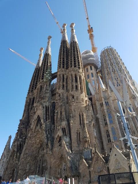 Sagrada Familia Fassaden
