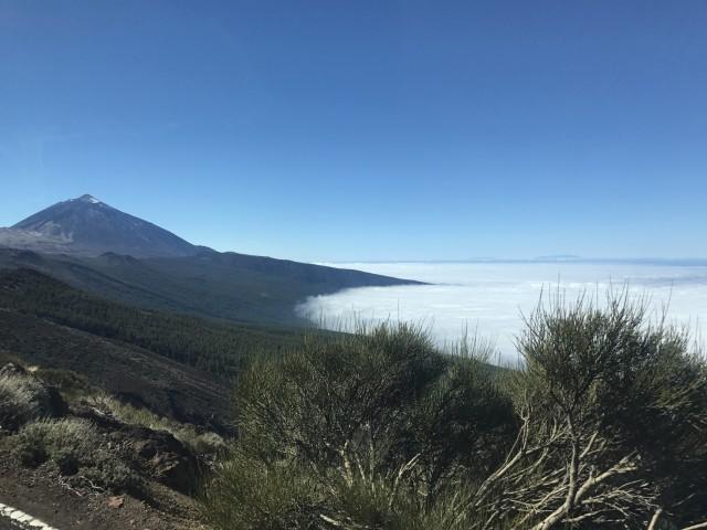 Teide im Wolkenmeer