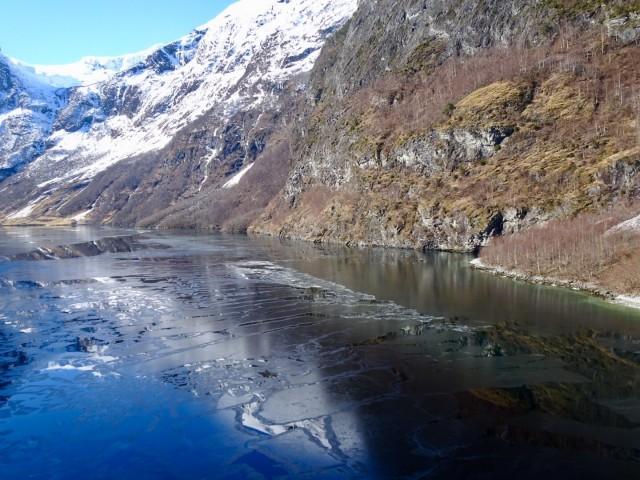 Winter im Fjord