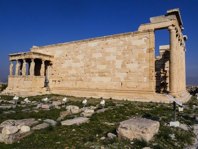 Erechtheiond ~ ein Tempel im ionischen Baustil der zwischen 420 und 406 v. Chr. erbaut wurde