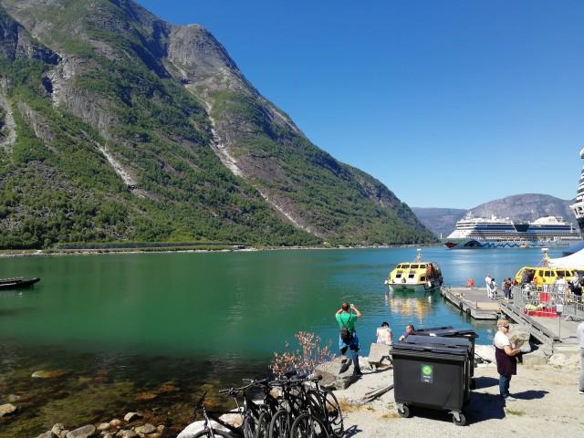Einlaufen Eidfjord
