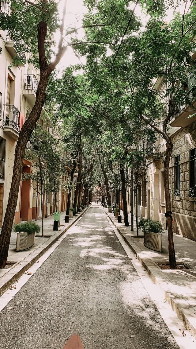 Straßen von Barcelona