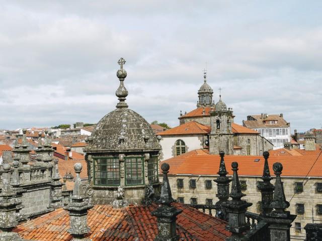 Über den Dächern von Santiago