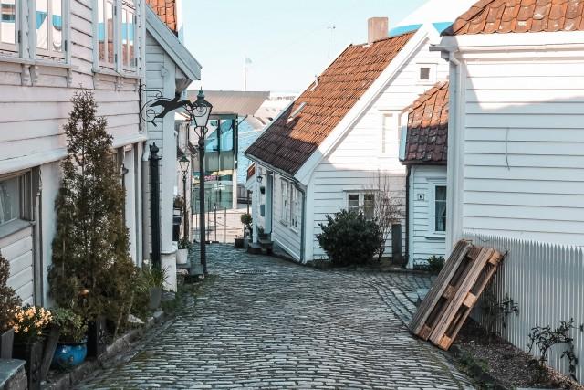Spaziergang durch Gamle Stavanger