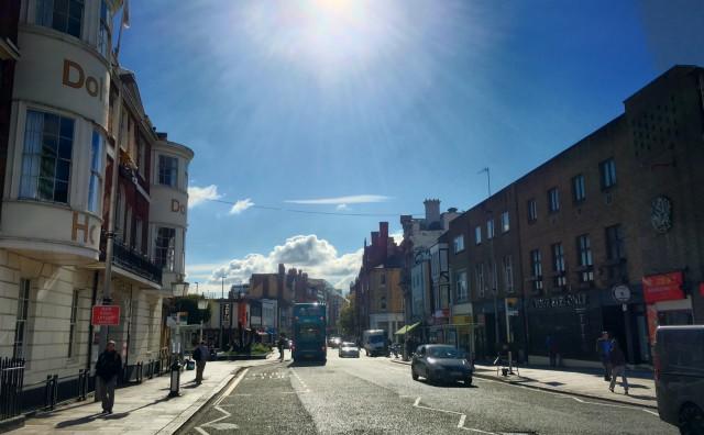 Die Straßen von Southampton