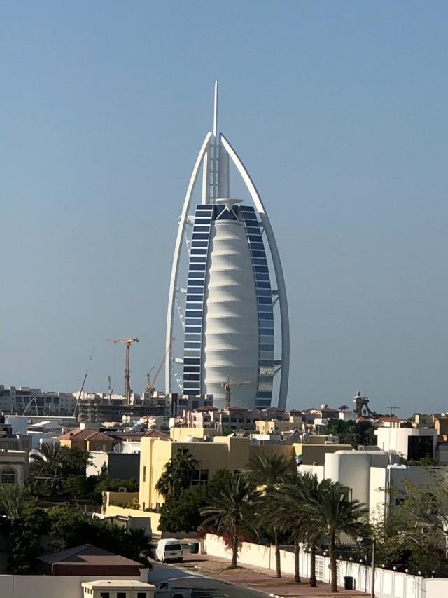 Das Burj al Arab bei Tag