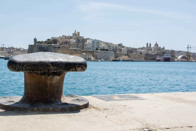Am Pier in Valetta