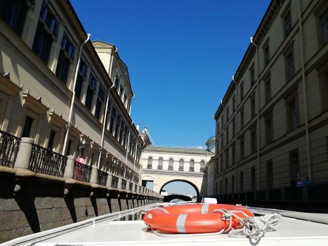St. Petersburg per Boot