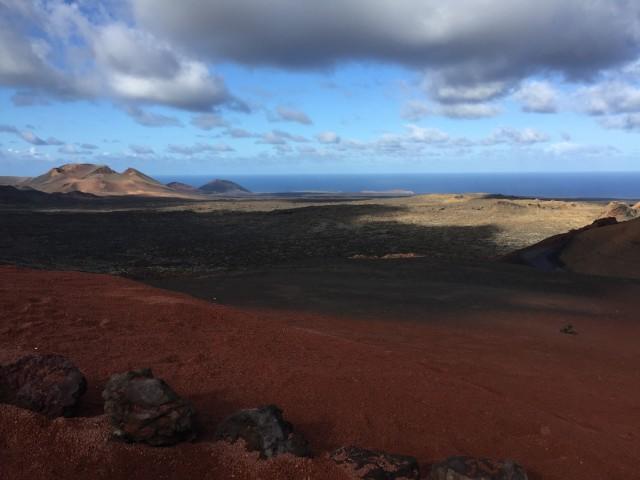 Eine Landschaft wie auf dem Mars