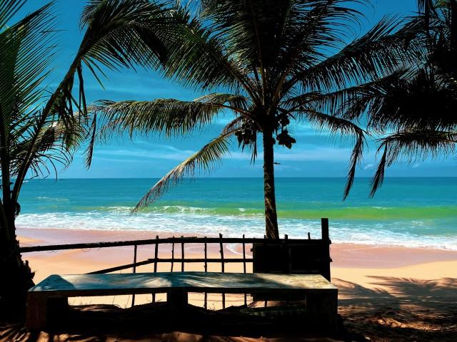 Traumstrand auf Sri Lanka