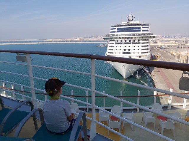Hafen in Dubai