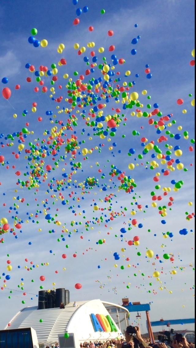 Ballons auf AIDAluna