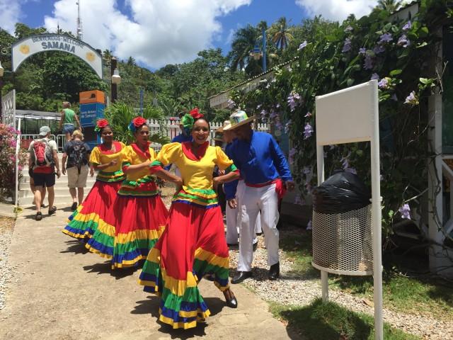 Tänzerinnen in Samaná