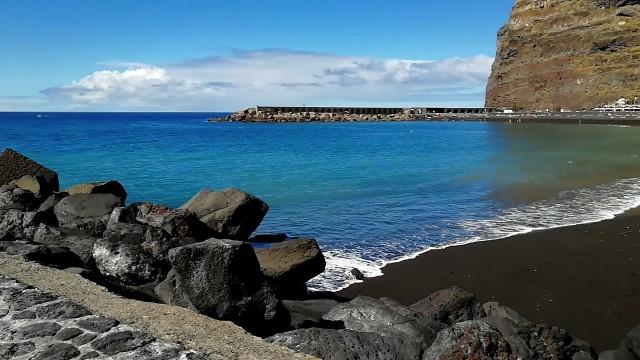 Schwarzer Sand auf La Palma