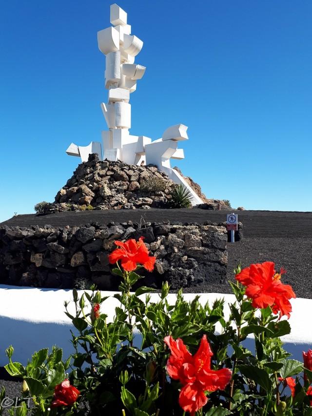El Monumento al Campesino von César Manrique ~ Denkmal zu Ehren der Landwirte