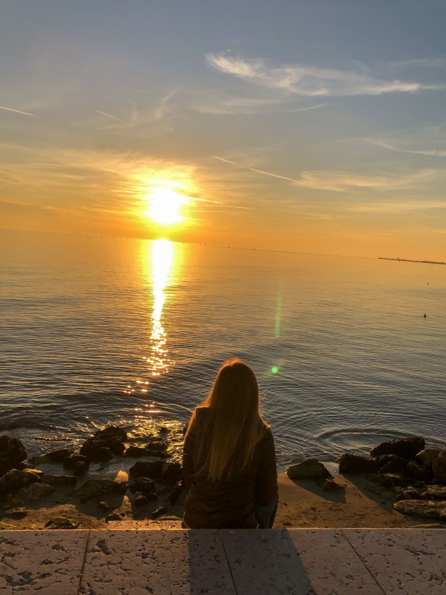 Lass uns dorthin, wo die Sonne den Ozean küsst ????