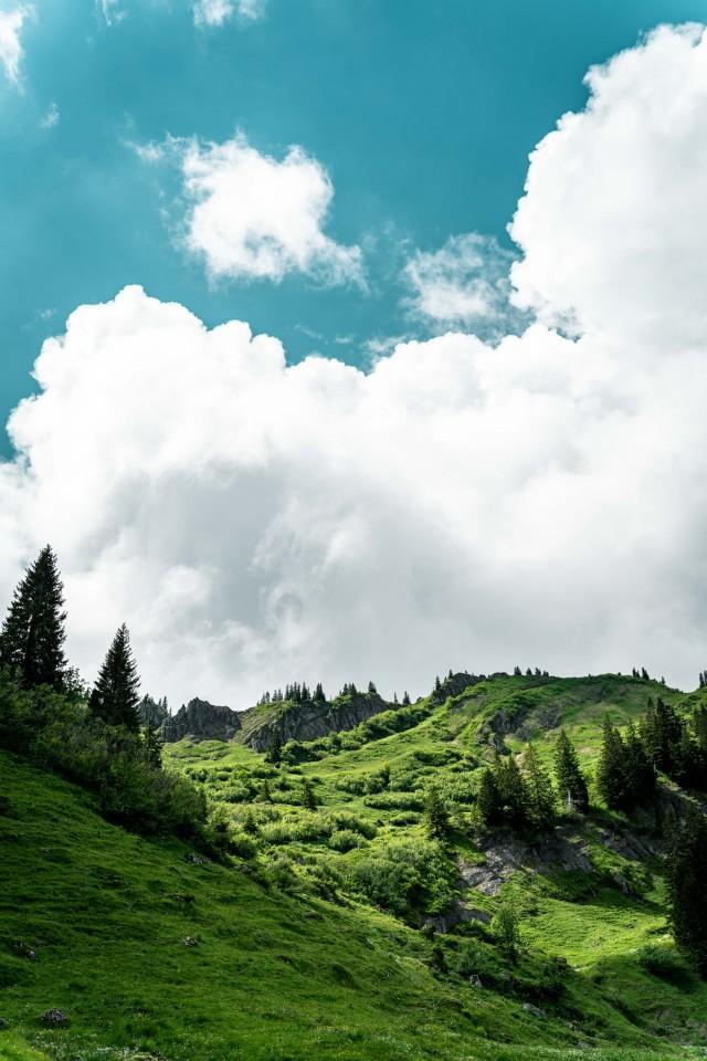 Wolkenhimmel sorgt für Dramatik