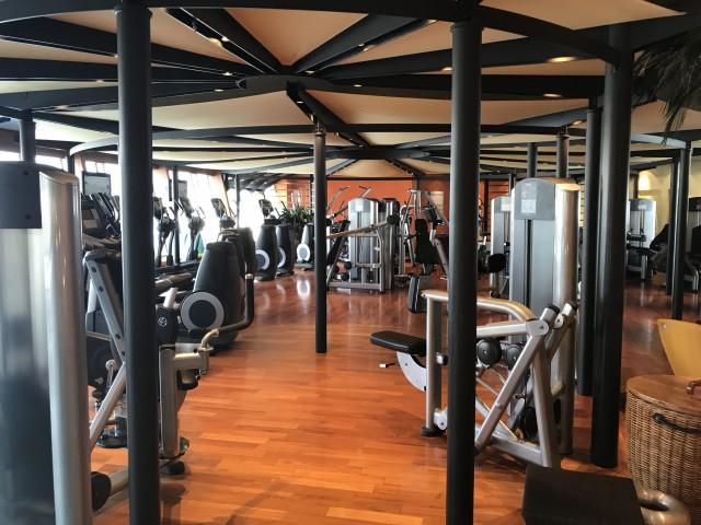 Fitnessbereich AIDAblu