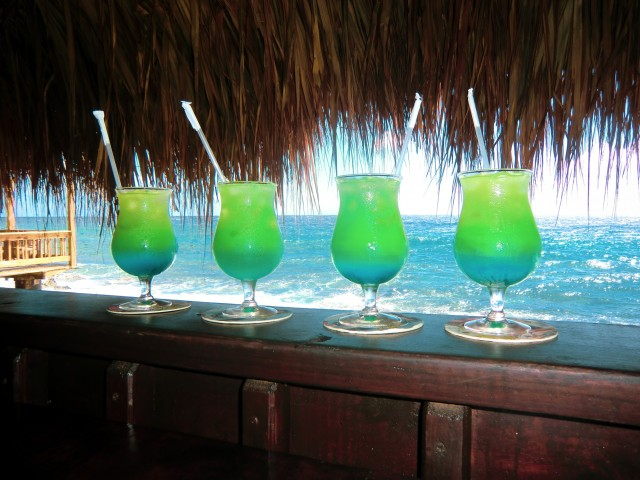 Cocktail-Time auf Curacao!