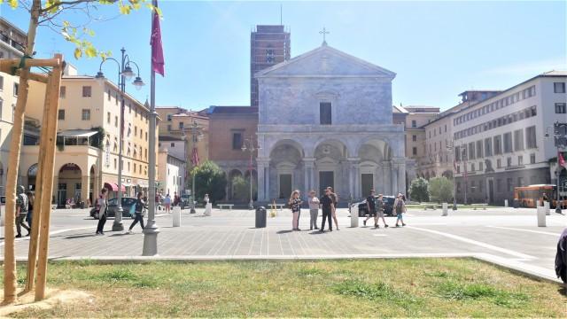 Marktplatz in Livorno