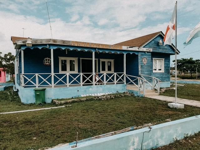 Bunte Häuschen mitten in der Karibik