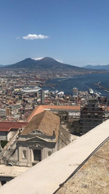 Blick auf den Vesuv