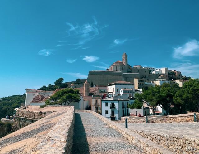 Festung in Ibiza