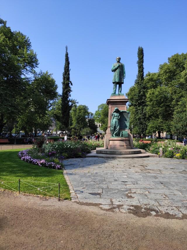 Der Park von Helsinki