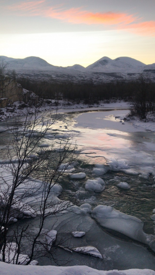 Abisko im Winter