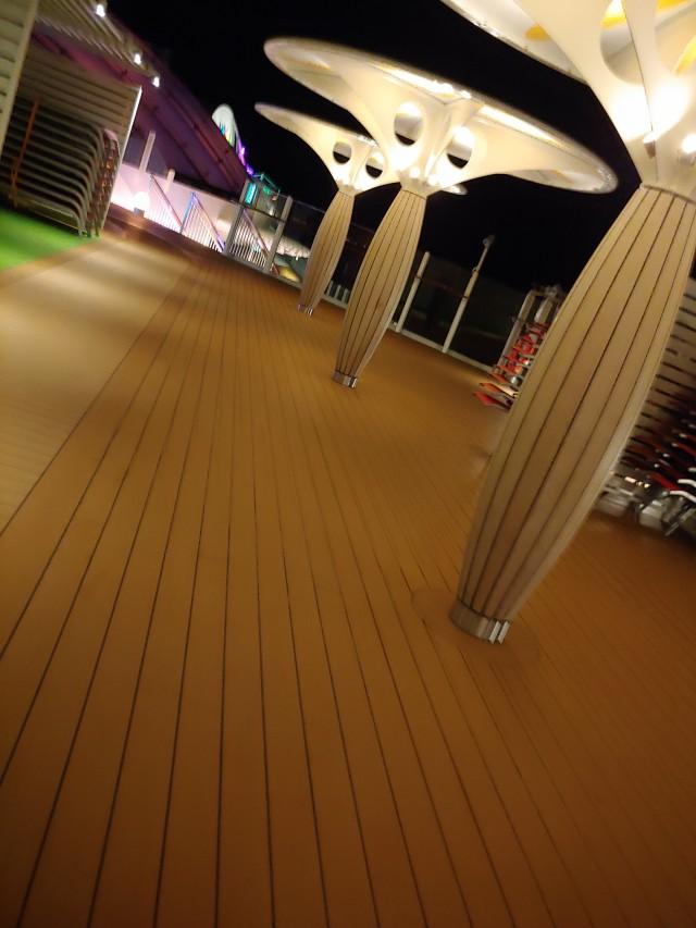Spaziergang bei Nacht