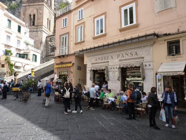 Bäckerei in Amalfi