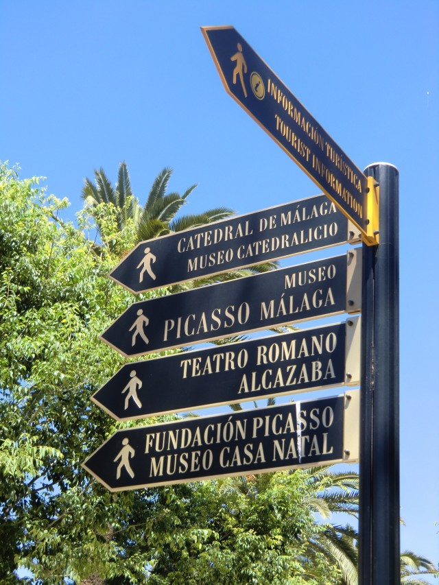 Unterwegs in Malaga