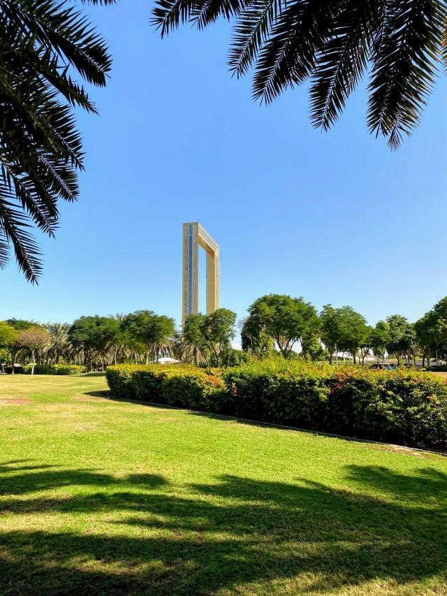 Auch Dubai besitzt Parkanlagen