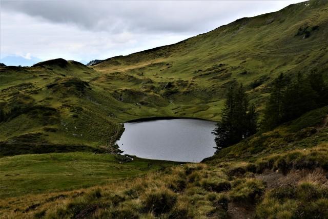 Wunderschöner kleiner See auf knapp 2000m