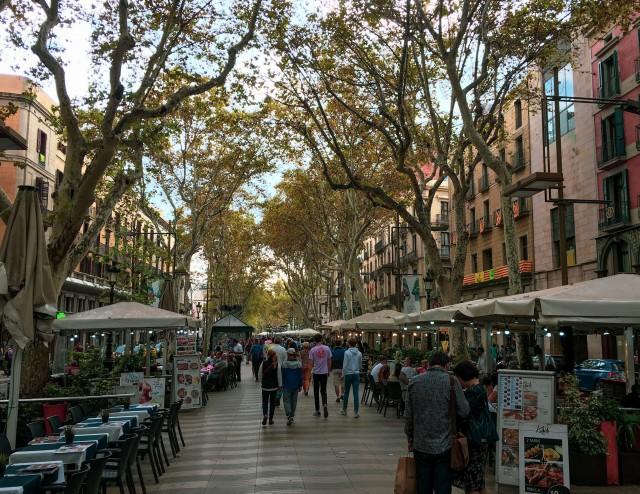 Barcelona Rumblas