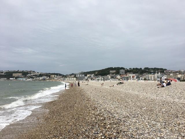 Strand von Le Havre